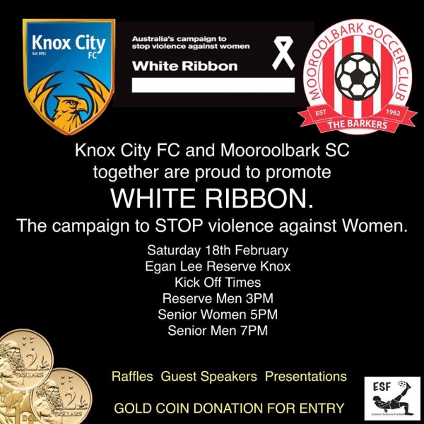 White Ribbon Cup